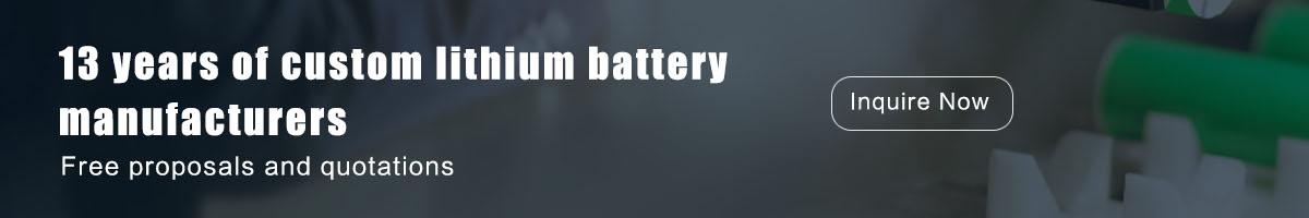 13年锂电池定制厂家
